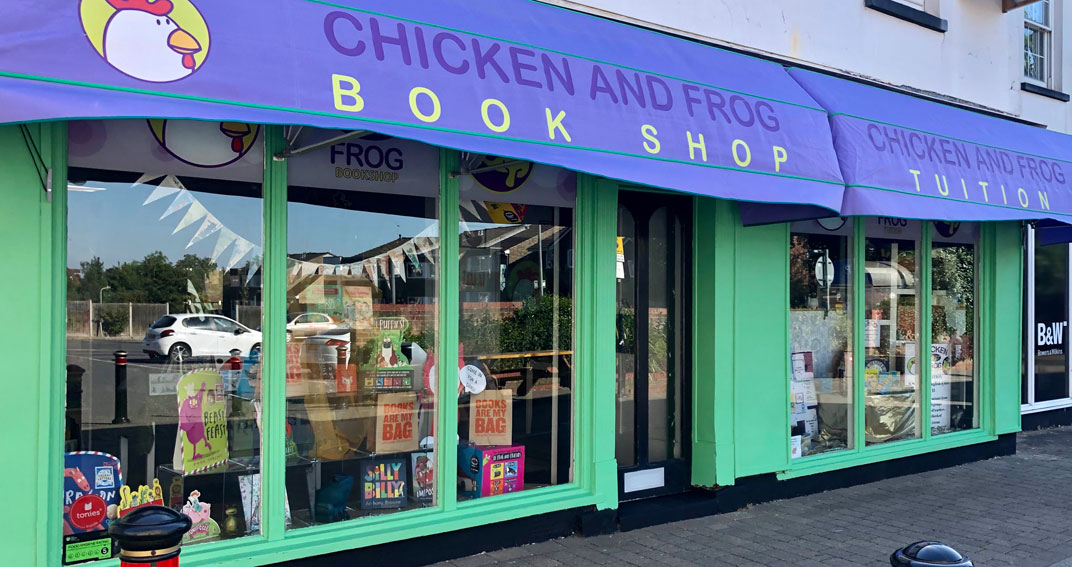 Chicken and Frog bookshop
