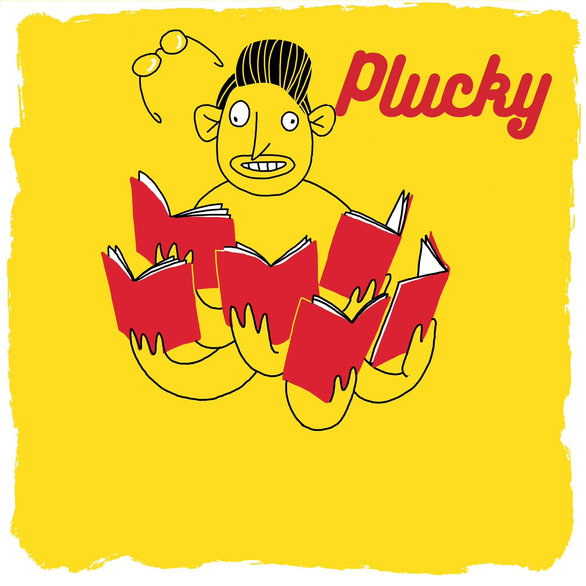 Plucky newspaper